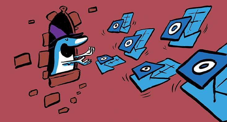 Blog post header and social media illustration